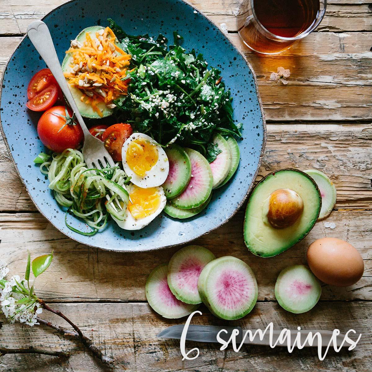 Suivi nutritionnel 6 semaines