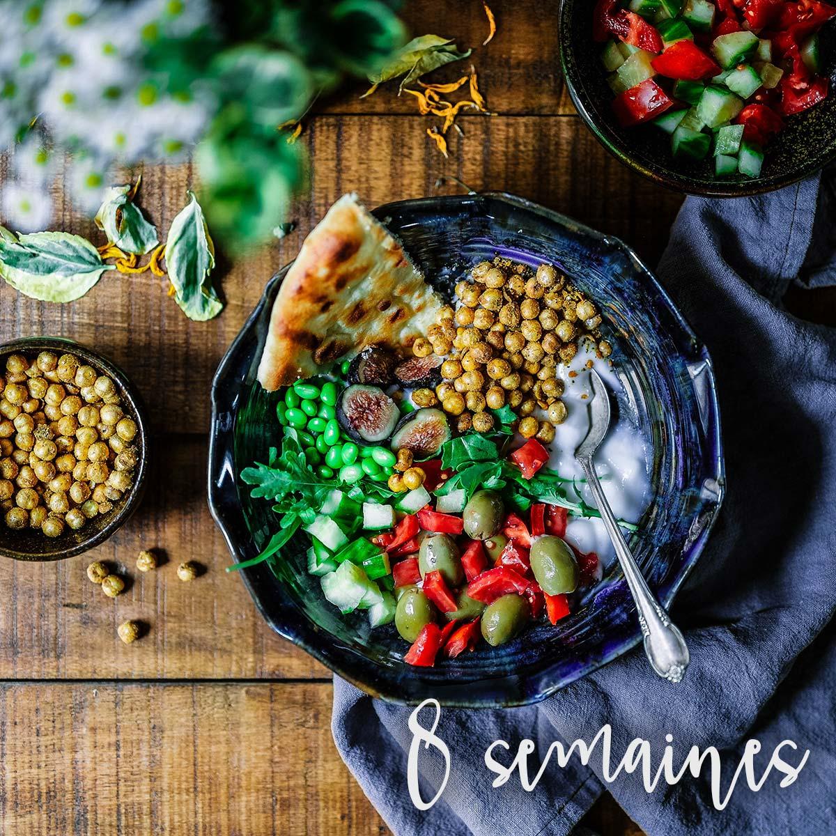 Suivi nutritionnel 8 semaines